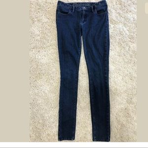 Madewell Blue Stretch Medium Wash Skinny Jeans 2